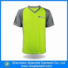 Custom Design Dri Fit T Shirts Custom Design Two Color Fluorescent Yellow Dry Fit T