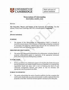 Samples Of Memorandum 50 Free Memorandum Of Understanding Templates Word ᐅ