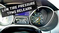 Ford Fiesta Low Tire Pressure Light Ford Focus Low Tire Pressure Light How To Train Tpms On