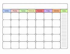Writable Calendar Free Printable Calendar Template Simply Sweet Days