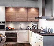 ikea small kitchen ideas minimalist ikea kitchen cabinet selection in lighter tone