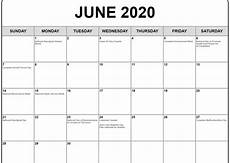 2020 Printable Monthly Calendar With Holidays June 2020 Calendar With Holidays Calendar Template