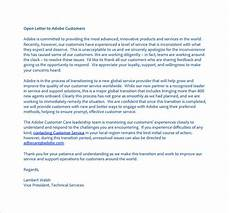 Apology Letter To Customers Free 7 Sample Apology Letter To Customer In Pdf Ms Word