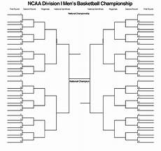 Blank March Madness Bracket Blank March Madness Bracket To Print For 2015 Ncaa