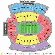 Wisconsin Badgers Seating Chart Wisconsin Badgers Football Tickets 2018 Games Ticketcity