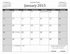 Planning Calendar Template 2015 2015 Calendar Templates And Images