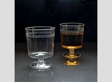 1 PC 8 oz PLASTIC CLEAR WINE GLASSES GOBLETS CUPS 240CT