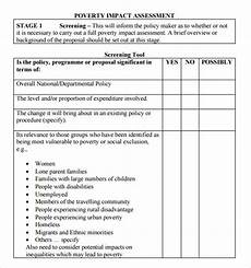 Example Of Assessment Free 8 Sample Impact Assessment Templates In Pdf Excel