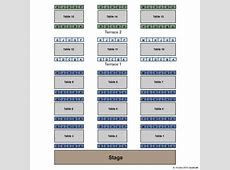 Myers Dinner Theatre Tickets in Hillsboro Indiana, Seating