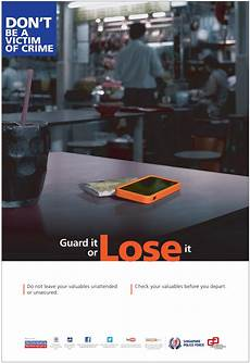 Crime Poster Design Crime Prevention Posters