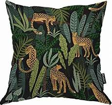 moslion tiger pillow cover animals tigers