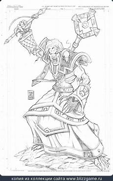 November Malvorlagen Wow Priest Sethus By Gill Bates In 2019 Warcraft