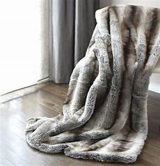 luxury faux fur oversized throw blanket with