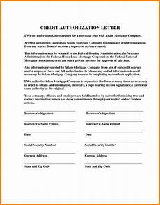 Credit Card Authorization Letter Template Sample Authorization Letter For Credit Card In Pdf