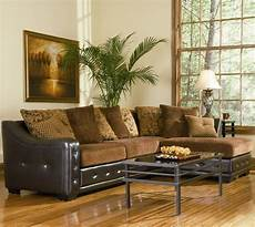sectional sofa 503001 chocolate chenille brown vinyl base