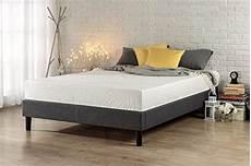 zinus curtis essential upholstered platform