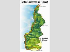 Jumlah Penduduk Polewali Mandar diantara Penduduk Sulawesi