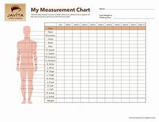 Free Printable Body Measurement Chart Pin By Paloma China On Weight Loss Body Measurement
