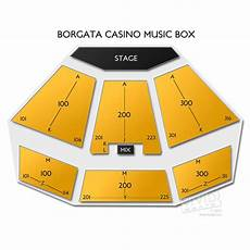 Borgata Theater Seating Chart Borgata Casino Music Box Tickets Borgata Casino Music