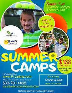 Summer Camp Pamplets Copy Of Kids Summer Camp Flyer Template 1