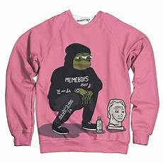 meme clothes meme boys sweatshirt wearyourface