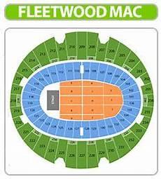 Fleetwood Mac Cleveland Seating Chart Fleetwood Mac Seating Chart
