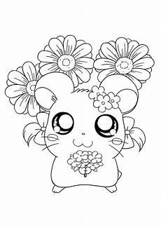 Kawaii Ausmalbilder Zum Ausdrucken Kostenlos Hamtaro Coloring Page Tv Series Coloring Page Picgifs