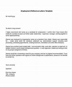 Writing A Reference Letter For An Employee 7 Reference Letter For Employee Examples Pdf Examples