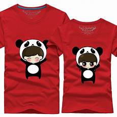 panda clothes for 6 color panda suits tops for summer clothes