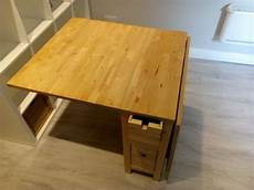 Foldout Table Wooden Fold Out Table With Storage For Sale In Greenhills