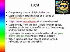 Light And Sound Which Travels Faster Light