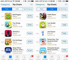 Apple Itunes Charts Ios App Store Top Charts Now Display 150 Results Down