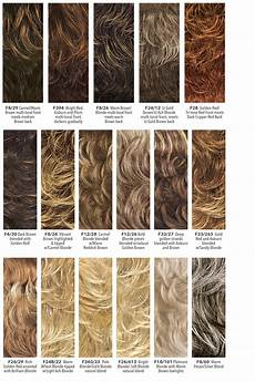 Wigs Color Chart Wig Color Charts The Wig Company