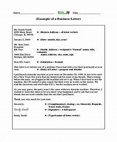 Sample Professional Business Letter 7 Examples In Word Pdf
