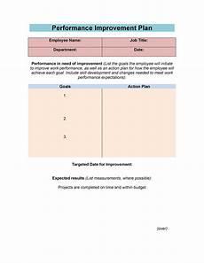 Employee Expectation List 40 Performance Improvement Plan Templates Amp Examples