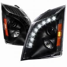 2006 Cadillac Cts Led Lights 2008 2014 Cadillac Cts Halogen Model Led Drl Projector
