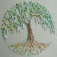 564 best stitching trees leaves acorns images on