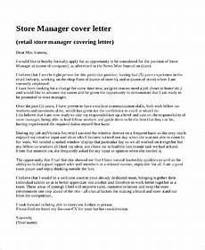 Cover Letter Retail Manager Free 8 Sample Retail Cover Letter Templates In Pdf Ms Word