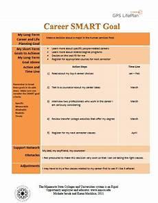 Examples Of Career Goals Smart Goal Career Tracker Career Advice Pinterest Career