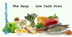 the easy low carb diet days to fitness