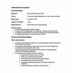Administrative Clerk Duties Job Description Sample Uk Anjinho B