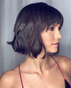 frisuren dickes haar pony top 10 low maintenance bob cuts for thick hair