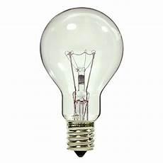 Ceiling Fan With Normal Light Bulbs 40 Watt Clear Ceiling Fan Bulb Bulbrite 104241