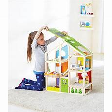 hape all season doll house fully furnished toys et cetera