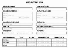 Pay Stub Sample Free Pay Stub Template Tips Amp What To Include