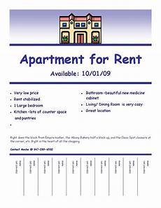 Free Apartment Advertising Quot Fulfilling Your Creative Needs Quot