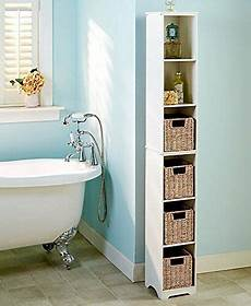 slim narrow storage tower cabinet bathroom adjustable