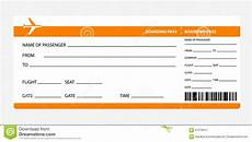 Airline Ticket Template Free Plane Ticket Template Shatterlion Info