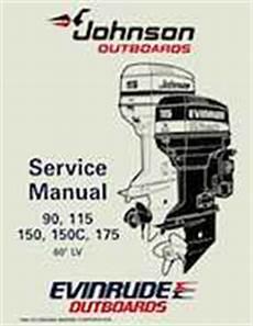 1995 Johnson Evinrude Quot Eo Quot 60 Lv 90 115 150 150c 175