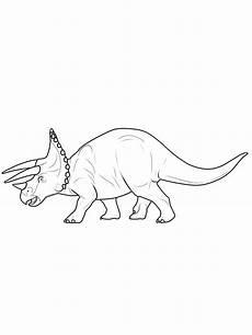 Dinosaurier Ausmalbilder Triceratops Ausmalbild Dinosaurier Und Steinzeit Dinosaurier